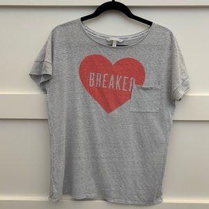 Victoria's Secret heartbreaker t shirt sz sm